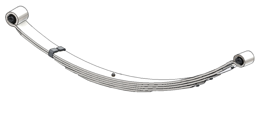 Ford Bronco II Truck Leaf Spring, Rear