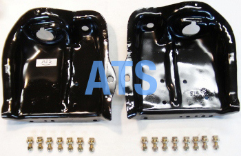 Ford F100, Ford F150 Coil Spring/Shock Tower Bracket COMPLETE Kit, RIGHT and LEFT SIDE FRONT SINGLE SHOCK