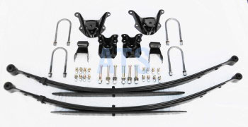 "Ford RANGER - HEAVY DUTY Leaf Spring Assembly Kit, Complete INCLUDES 11"" ROUND U-BOLTS, fits 2 1/2 "" Wide Leaf Spring**SHIPPING COST FOR SPRINGS ONLY!**"
