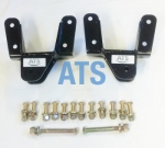 "Ford F SERIES Rear of Front Leaf Spring Hanger Assembly Kit (LEFT and RIGHT SIDE), fits 3"" Wide Leaf Spring**FREE SHIPPING**"