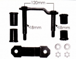 Toyota Leaf Spring Shackle Kit OEM# 0448334010