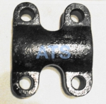 "Chevy/GMC Bottom U-Bolt Saddle Plate, fits 2-1/2"" Wide Chevy/GMC Rear Leaf Spring**FREE SHIPPING**"