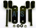 "Chevy Leaf Spring Shackle Kit, Rear of Front (CS403), fits 2-1/2"" Wide Leaf Spring"