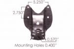 "Ford F150 Spring Hanger Bracket, Rear of Rear, fits  2-1/2"" Wide Leaf Spring **FREE SHIPPING**"