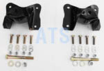 "Ford E SERIES VAN  Rear of Rear Leaf Spring Hanger Kit (2 HANGERS),  REAR OF REAR SUSPENSION, fits 3"" Wide Leaf Spring **FREE SHIPPING**"