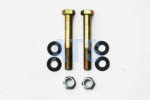 "Leaf Spring Eye Bolt Kit, Grade 8   9/16""x4""*FREE SHIPPING*"