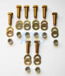 "Leaf Spring Hanger Mounting Bolt Kit  7/16""x1-1/4"""