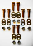 "Leaf Spring Hanger Mounting Bolt Kit  7/16""X1-1/2"""
