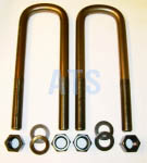 "1-1/4""X4-1/6""X13.5 Semi-Round Mack U Bolt Kit"