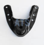 "Ford Spring Hanger Bracket, Front of Rear, fits  3"" Wide Leaf Spring"