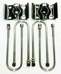 SUSPENSION U-BOLTS 9//16 ROUND OR SQUARE TOP CHEVY DODGE FORD