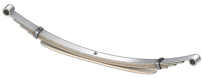 Mid 1995-2005 Chevy Astro and GMC Safari Compact Van Xtra Heavy Duty Rear Leaf Spring