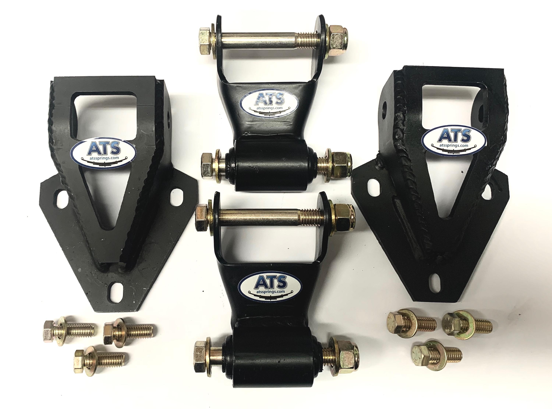 60mm Standard Tandem Shackle Kit
