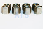"Leaf Spring U-Bolt Deep Nut Kit 1/2""-20 , Grade 5"