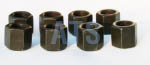 "Leaf Spring U-Bolt Deep Nut Kit 3/4""-16, Grade 8"