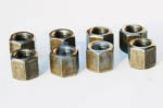 "Leaf Spring U-Bolt Deep Nut Kit 3/8""-24  , Grade 5"