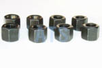 "Leaf Spring U-Bolt Deep Nut Kit 9/16""-18, Grade 5"