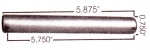 International/Navistar Leaf Spring Pin (Rebound Pin)