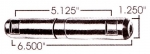 International/Navistar Leaf Spring Pin, Greasable