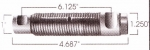 Freightliner Threaded Leaf Spring Pin, Greasable