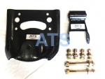 "Dodge Ram PickUp Leaf Spring Hanger/Shackle Kit, Rear of Rear Suspension, fits 3"" Wide Leaf Springs"