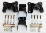 "Ford E SERIES VAN Rear of Rear Leaf Spring Hanger/Shackle Assembly Kit, Complete (2 SIDES) REAR OF REAR SUSPENSION, fits  3"" Wide Leaf Spring **FREE SHIPPING**"