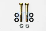 "Leaf Spring Lock Bolt Kit, Grade 8  1/2""x4"" *FREE SHIPPING*"