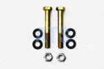 "Leaf Spring Eye Bolt Kit, Grade 8   9/16""x4-1/2""*FREE SHIPPING*"