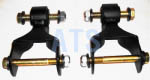 "Ford F SERIES   Front of Front Leaf Spring Shackle Kits (2 KITS), Fits 3"" Wide Leaf Spring**FREE SHIPPING**"