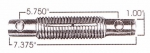 International/Navistar Threaded Leaf Spring Pin, Greasable