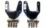"Ford RANGER Leaf Spring Hanger Assembly Kit - USES 9/16"" SPRING EYE BOLT, Complete (2 SIDES) FRONT HANGER OF REAR SUSPENSION, fits 2-1/2"" Wide Leaf Springs**FREE SHIPPING**"
