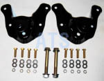 "Ford BRONCO (Full Size) Spring Hanger Assembly Kit - Front of Rear Spring Hanger (2 Kits), fits 3""  Wide Leaf Spring**FREE SHIPPING**"