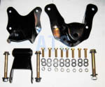 "Ford BRONCO (Full Size) Spring Hanger/Shackle Assembly Kit, Complete - Front and Rear Position Of Rear Suspension, fits  3"" Wide Leaf Spring **FREE SHIPPING**"